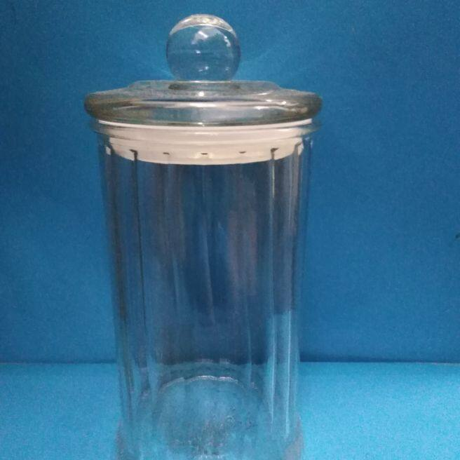 9pc of 1000ml glasa jar with glasa lid
