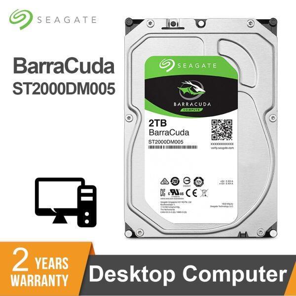 Bảng giá Seagate BarraCuda 2TB 3.5 SATA3 6 Gb/giây 5400 Vòng/phút Máy Tính Để Bàn HDD Internal Hard Disk Drive 2TB Cho Máy Tính ST2000DM005 Phong Vũ