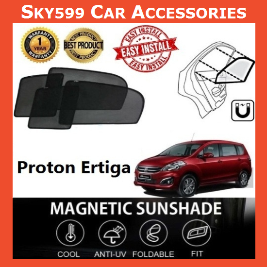 Proton Ertiga Magnetic Sunshade ?6pcs?