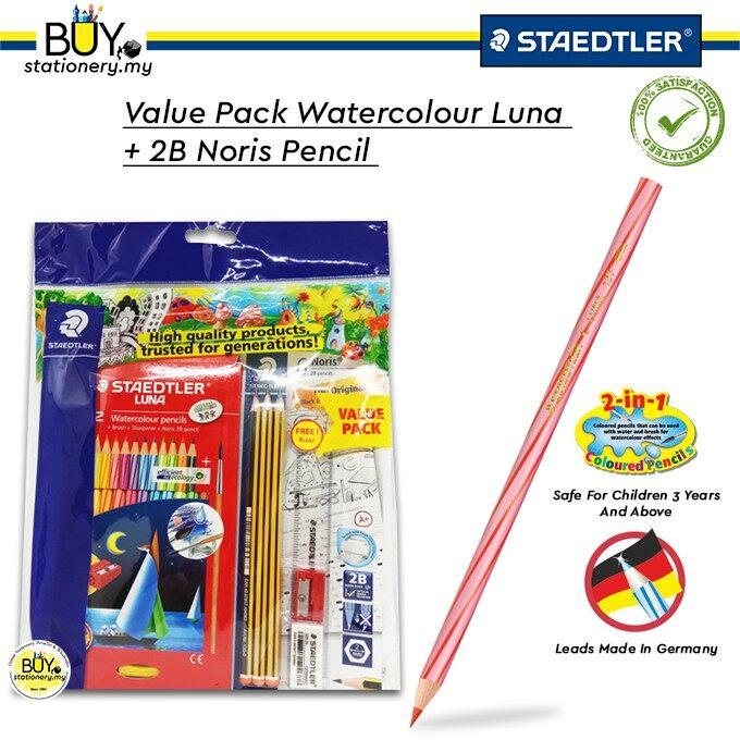 Staedtler Luna Watercolour Back To School Value Pack 2