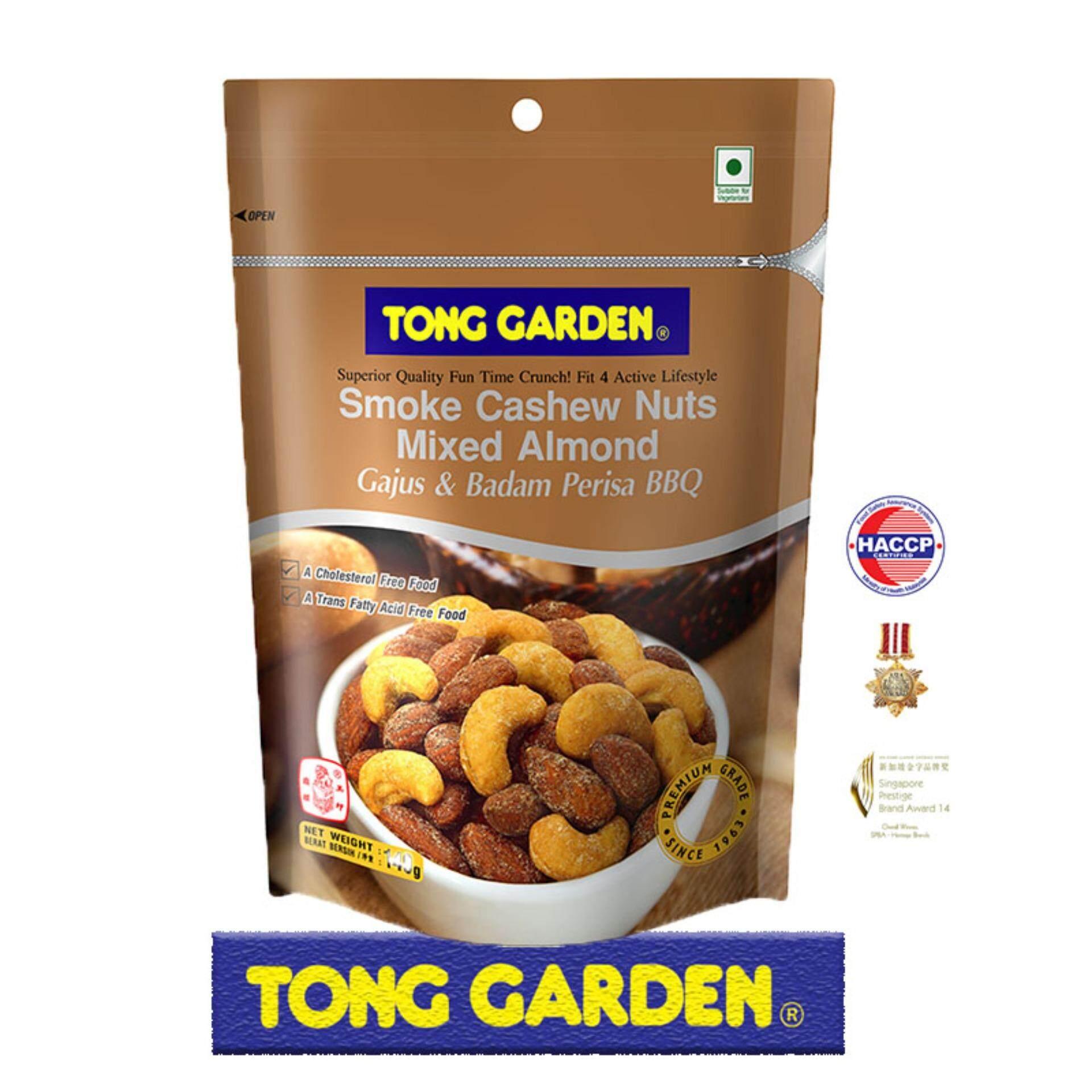 Tong Garden Cashew Nuts Mixed Almonds Smoke 140G