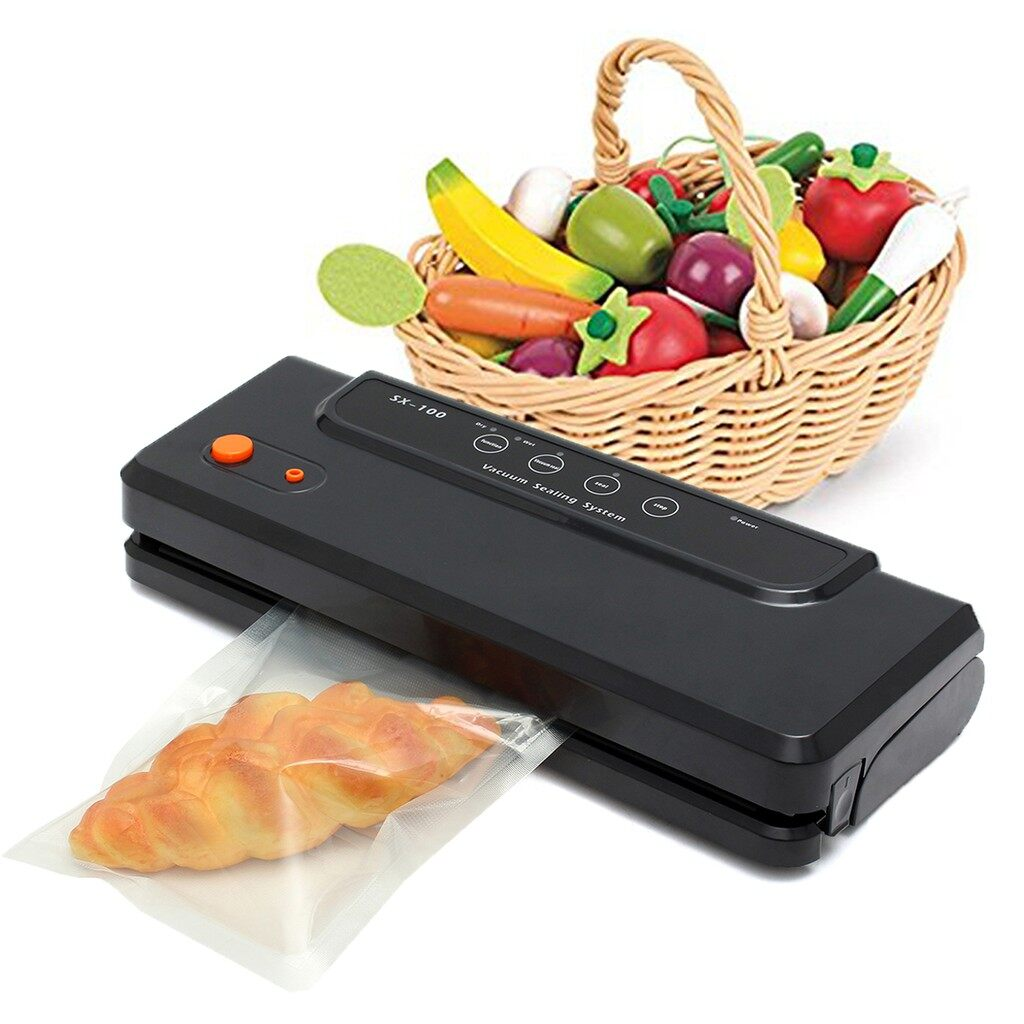 Air Conditioner Accessories - Vacuum Sealer Food Bag Electric Automatic Sealing Machine Saver Packing - WHITE( ) / WHITE( ) / WHITE( ) / BLACK( ) / BLACK( ) / BLACK( )