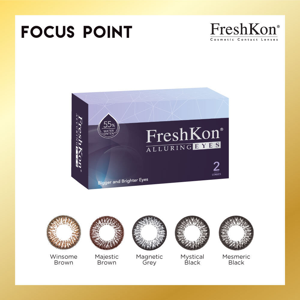 Freshkon Alluring Eyes Monthly (2 PCS)