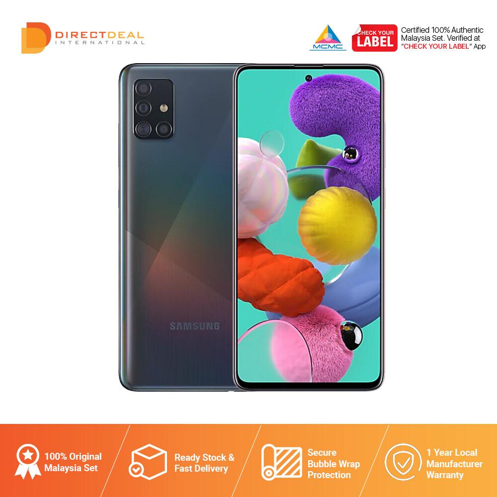 Samsung Galaxy A51 6GB+128GB - Ori Samsung Malaysia Warranty
