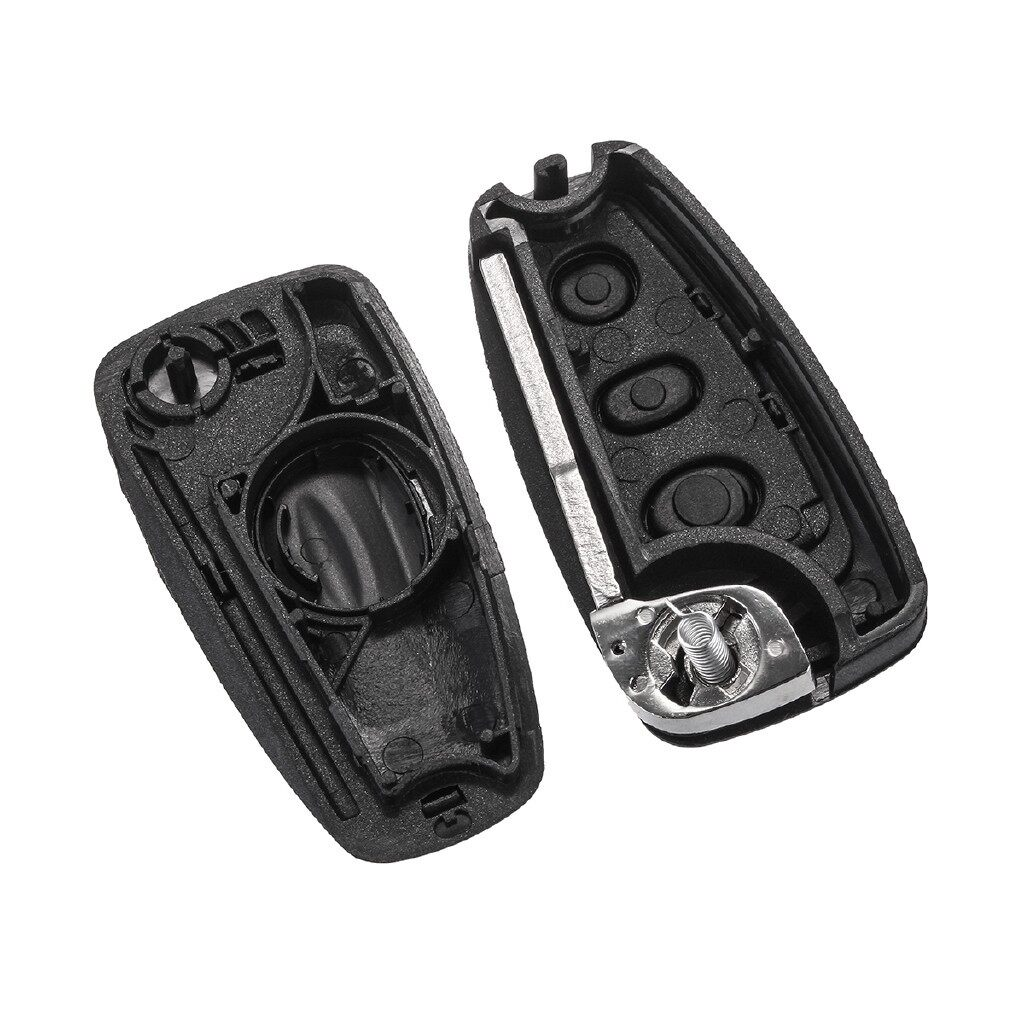 Automotive Tools & Equipment - 3 Buttons Flip Remote Key Fob Shell Case For Ford Focus 2 3 Fiesta Mondeo S Max - Car Replacement Parts