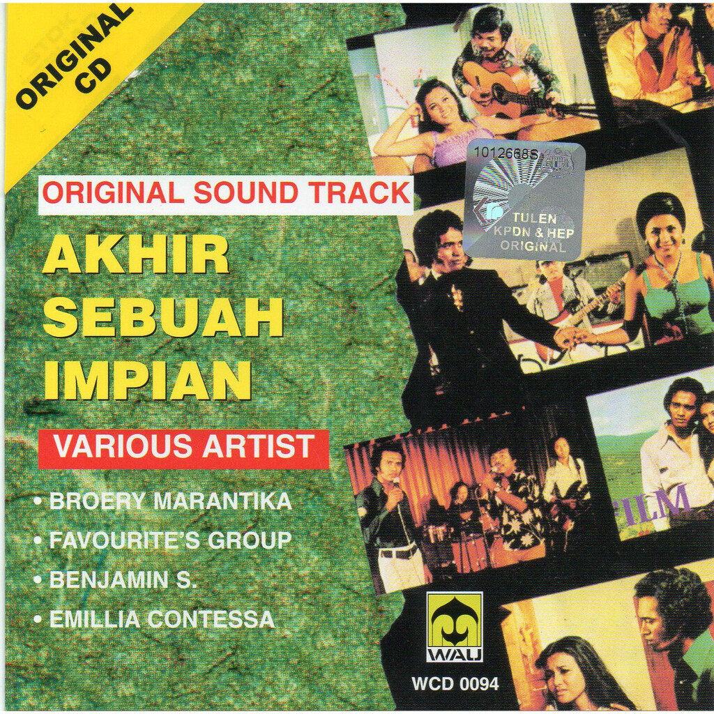 Akhir Sebuah Impian Original Soundtrack CD Broery Marantika Favourite\'s Group Emillia Contessa Benyamin S.