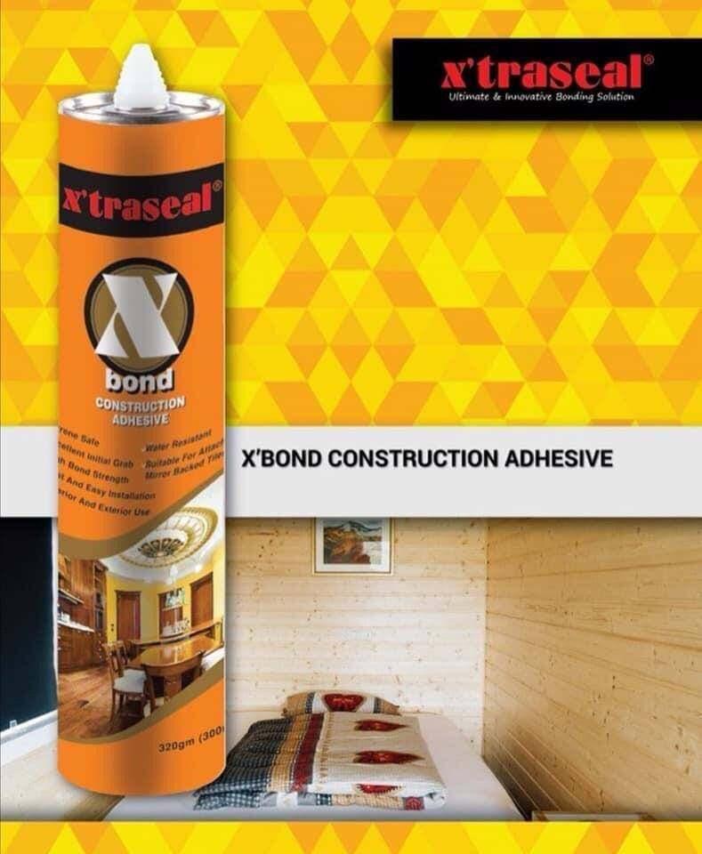 X'traseal X'Bond Construction Adhesive Sealant / Selly Liquid Nails