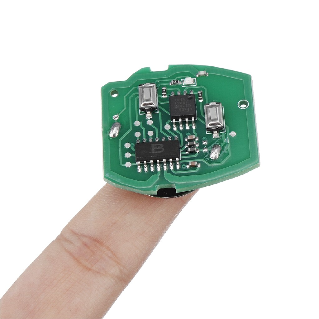 Automotive Tools & Equipment - Remote Key FOB Circuit Board 2 Butttons Replacement For BMW MINI ROVER 75 MGZT - Car Replacement Parts