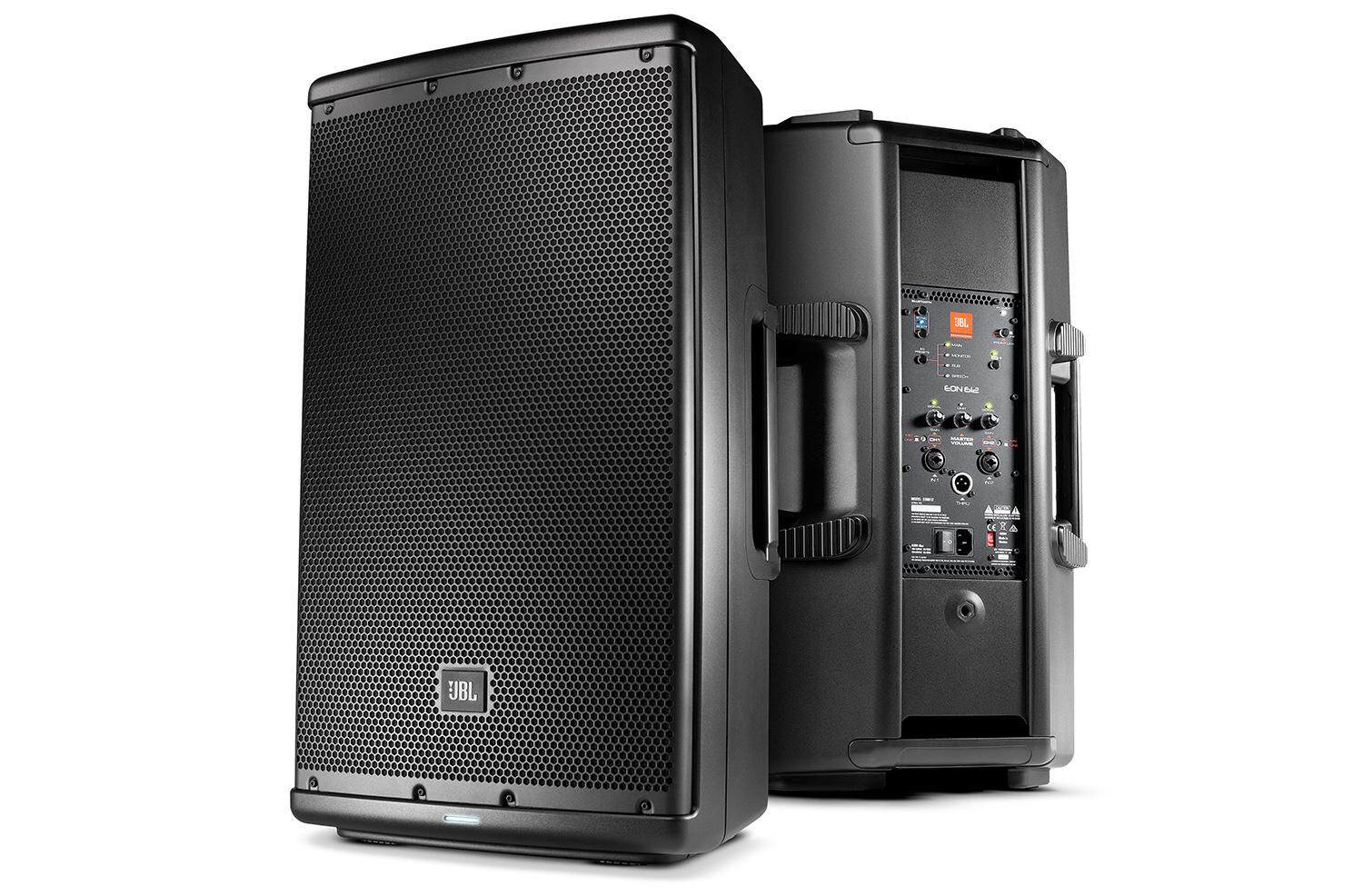 "JBL EON612 - 12"" Two-Way Multipurpose Self-Powered Sound Reinforcement Speaker"