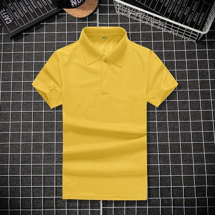 (PRE ORDER) MEN POLO SHIRT SHORT SLEEVE SOLID COLOR