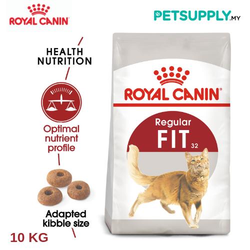 Royal Canin Dry Cat Food Fit 32 10kg [makanan kucing - PETSUPPLY.MY]