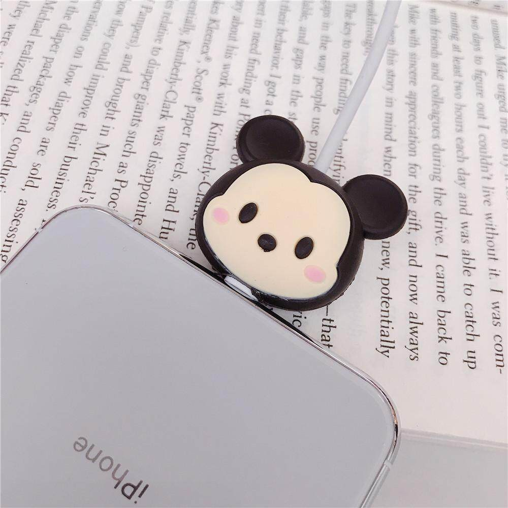 Cute Mickey Mouse Cartoon Cable Bite Data Cable Protector
