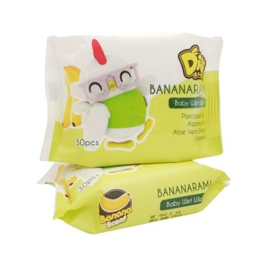 Didi and Friends Wet Wipes 30´s x 4 (120) [Easy for Outdoor/Travel]