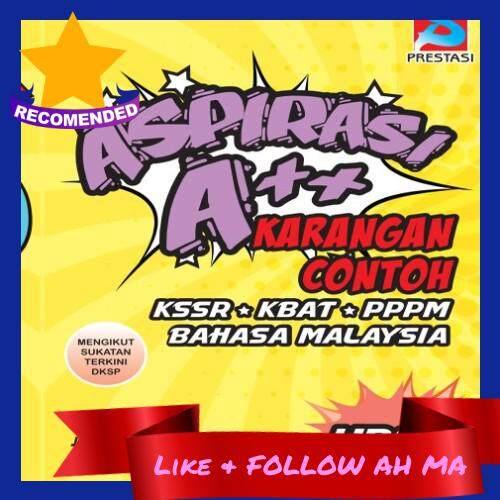 Best Selling Aspirasi A++ Karangan Contoh Buku Rujukan UPSR Bahasa Malaysia Sukatan Terkini Darjah 6 (Ready Stock)