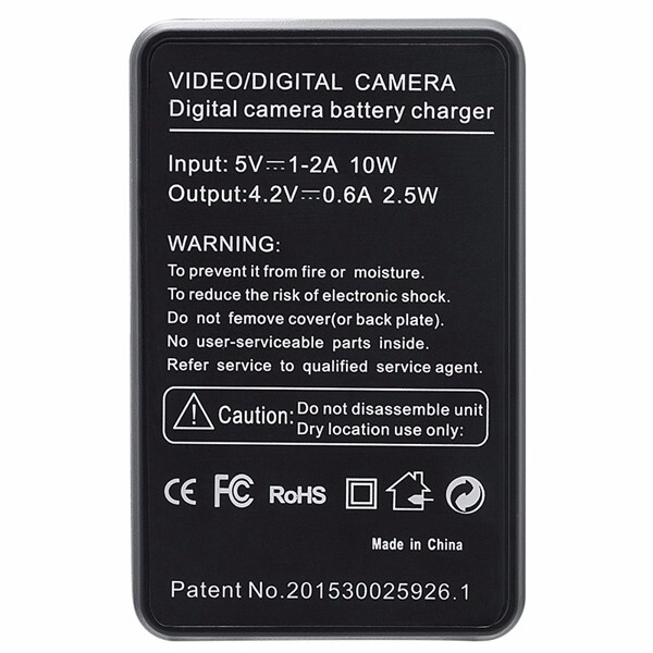 Chargers - SEIWEI NB-13L NB13L USB Camera Battery Charger LCD Screen - Cables