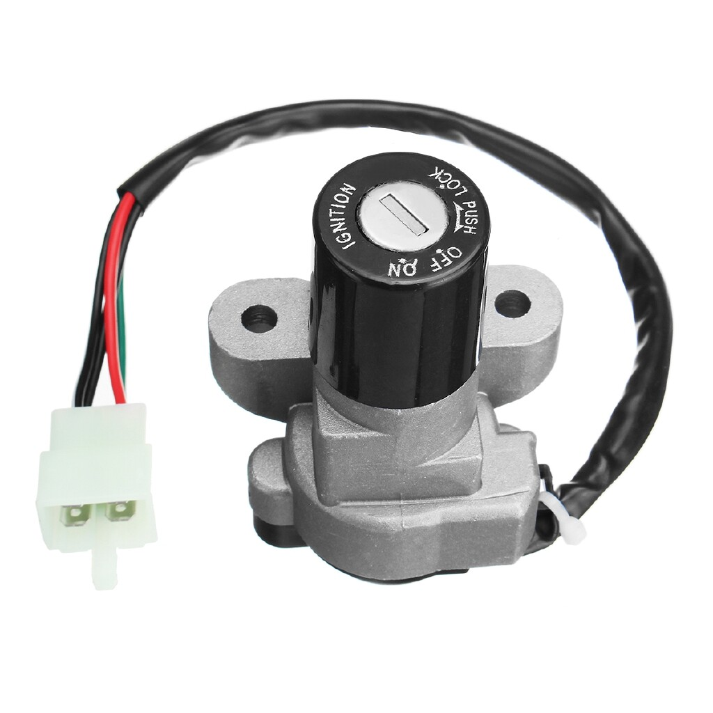 Car Lights - Ignition Switch Fuel Gas Cap Lock Key For Suzuki GSXR1000 SV650 TL1000R GSF1200 - Replacement Parts