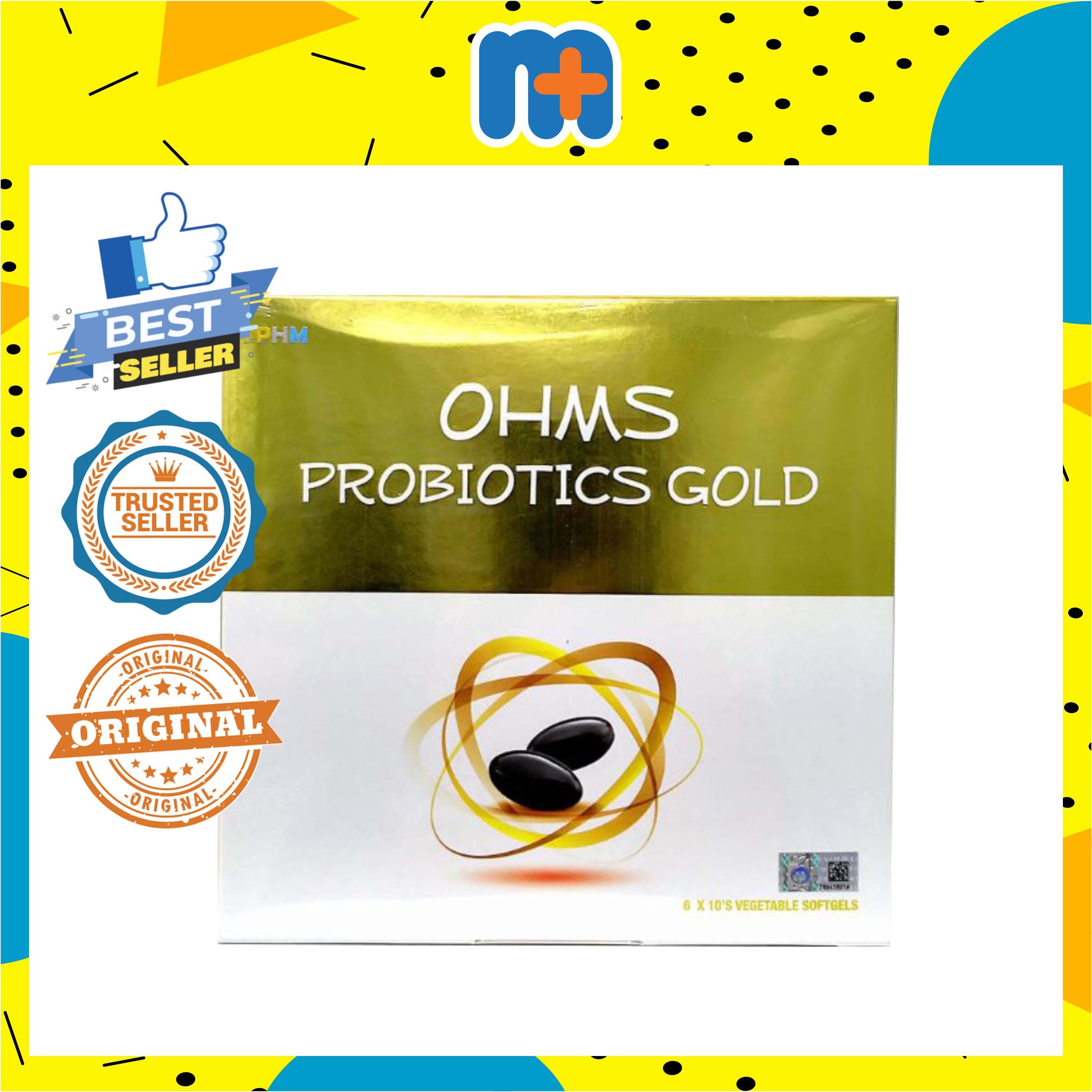 PHM OHMS PROBIOTICS GOLD 60S