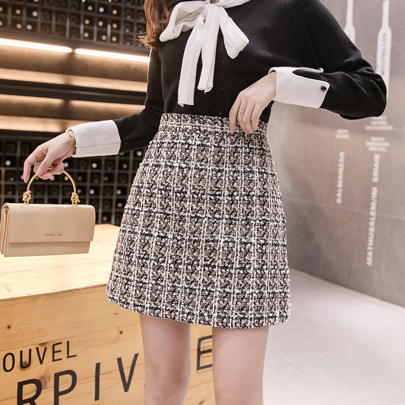 (Pre Order14 Days JYS Fashion Korean Style Women Skirt Collection 533-8383col533-8383--Beige -S
