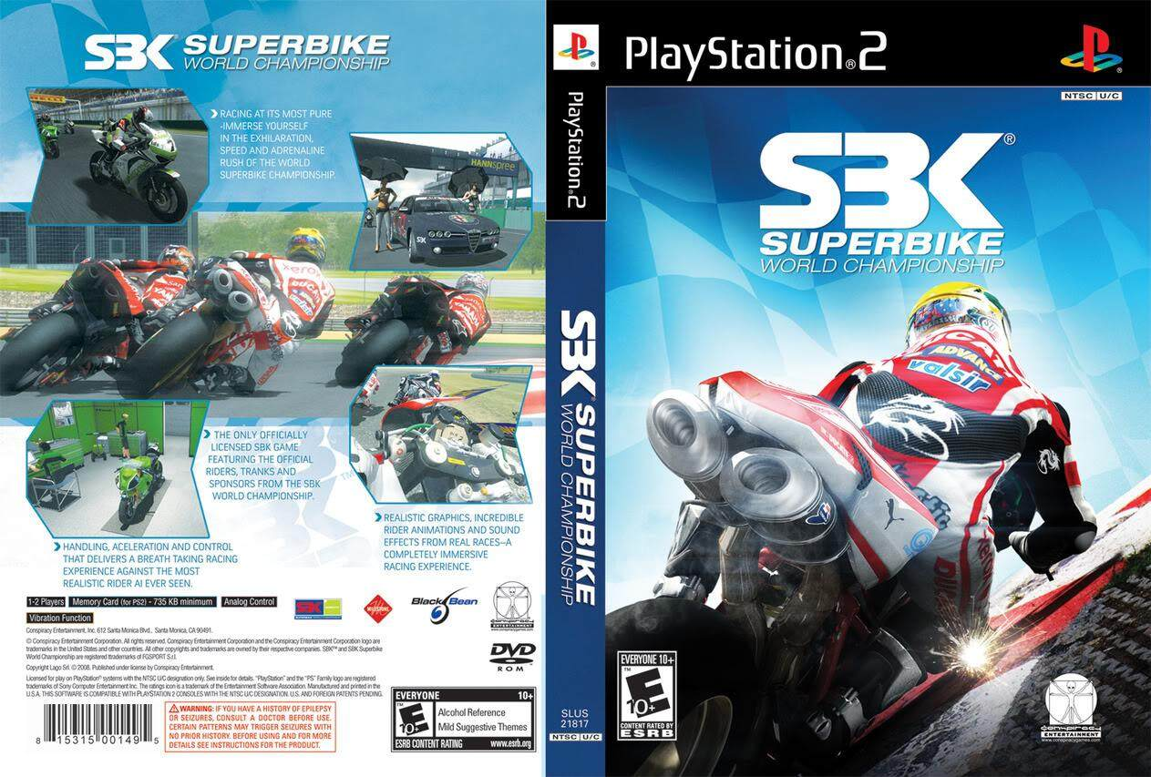 Ps2 SBK Superbike World Championship