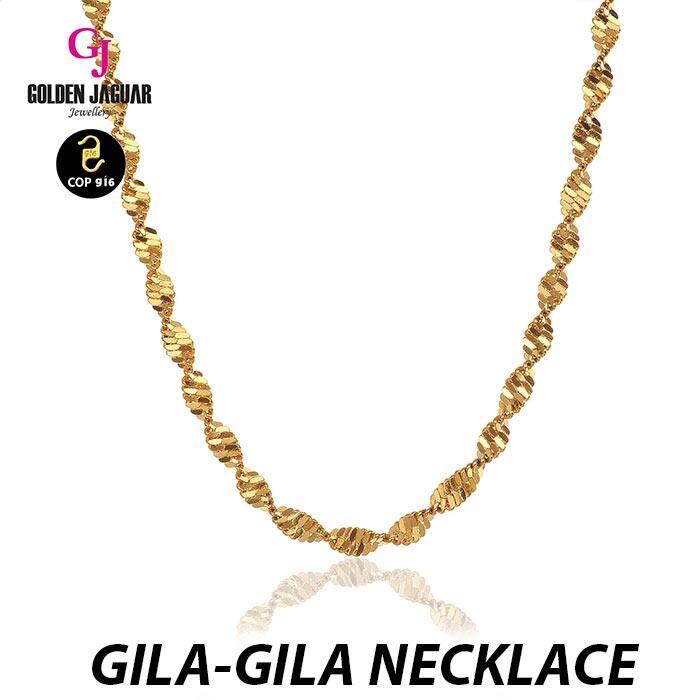 GJ Jewellery Emas Korea Necklace - Rantai Leher Mickey M2 (40608-M2)