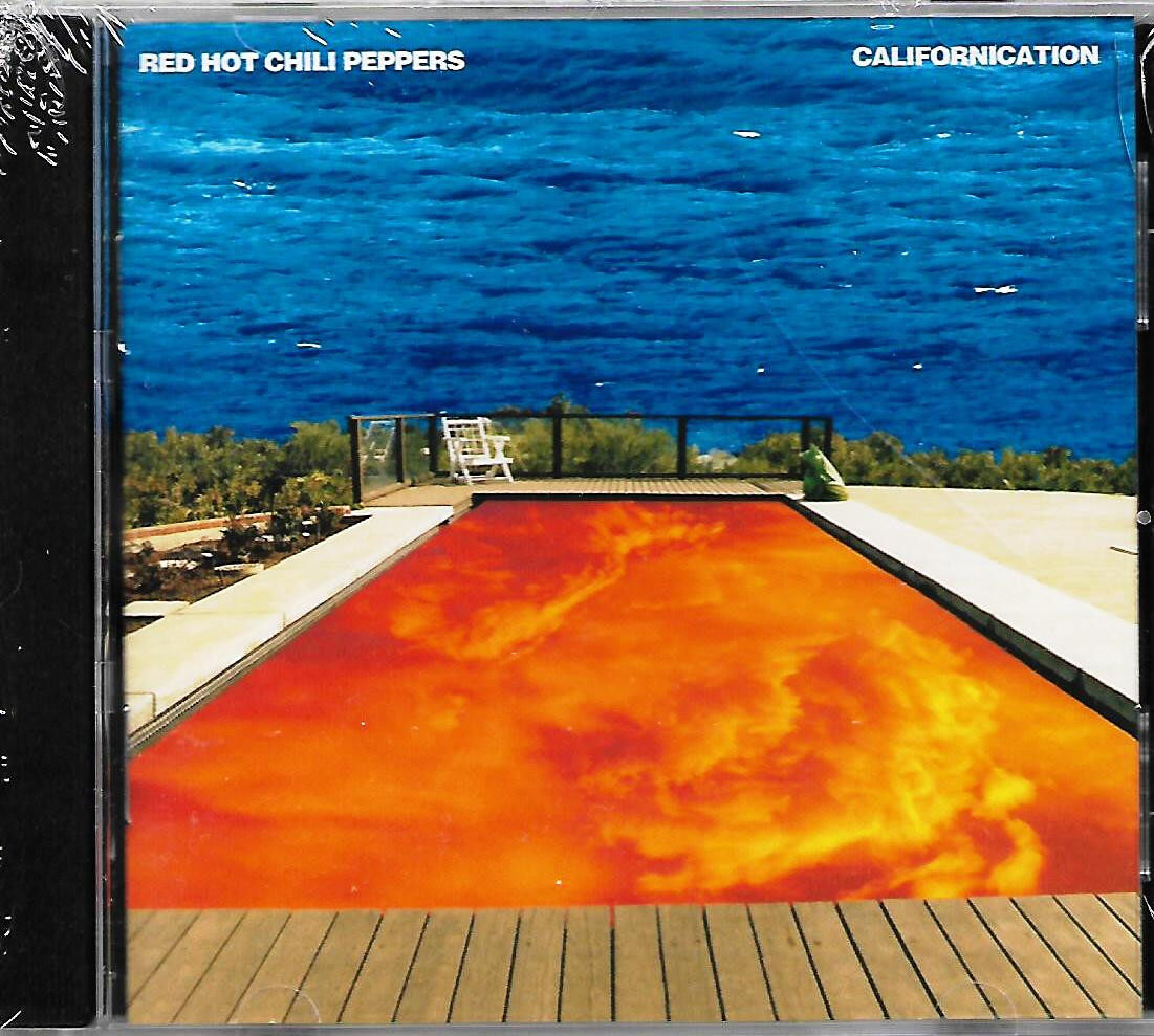 Red Hot Chili Peppers Californication Imported CD USA Pressed Original New And Sealed