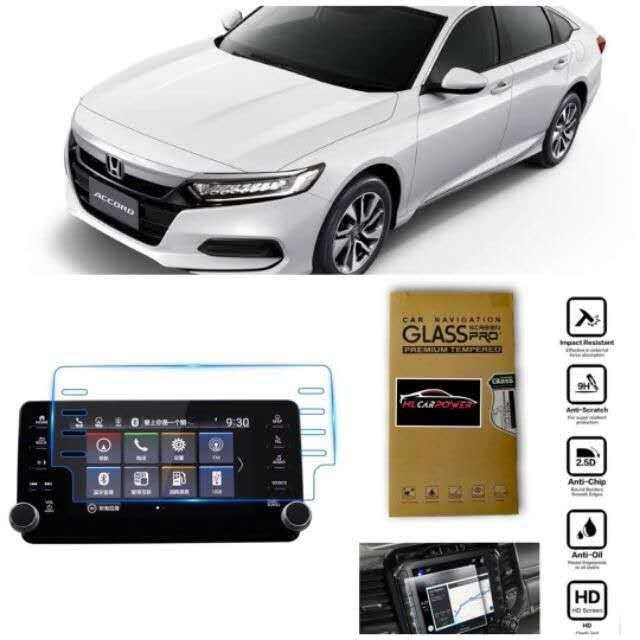 Honda Accord 2020 Head Unit Navigation Screen Protector Tempered Glass