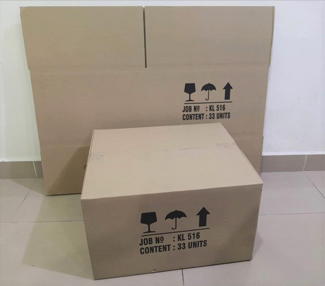 14pcs Printed Carton Boxes (L478 X W420 X H282mm)