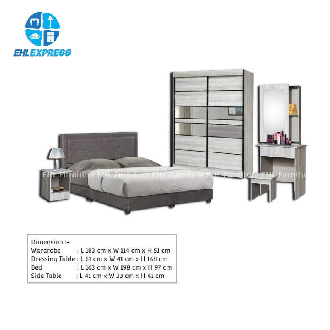 EHL EXPRESS Bedroom Set BRS0053