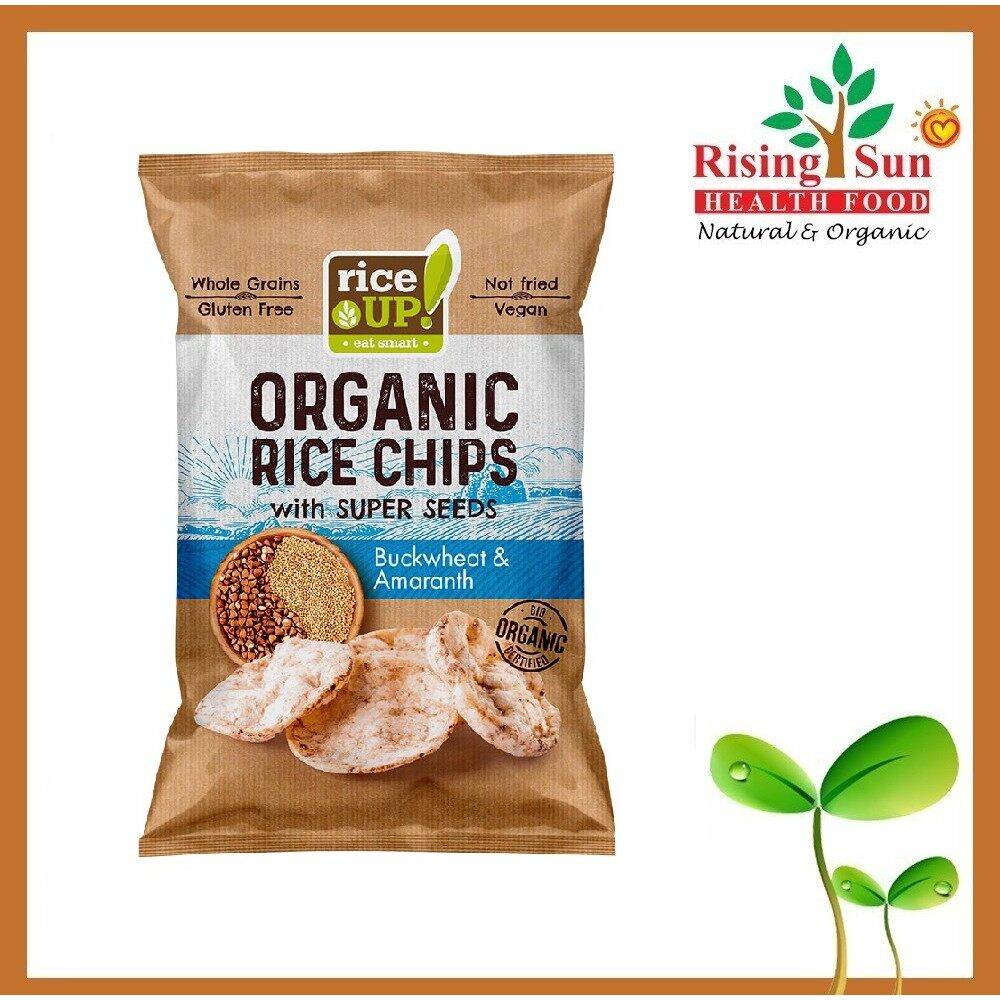 Rice Up Organic Rice Chips With Super Seeds Buckwheat & Amaranth 25G