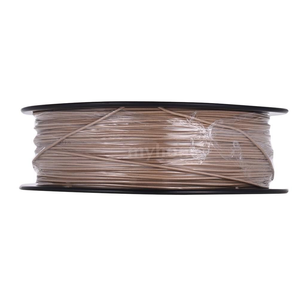 Printers & Projectors - 1KG/ Spool 3D Printer Wood Filament 1.75mm Printing Material Filament Supplies for 3D Printing - LIGHT WOOD / BROWN