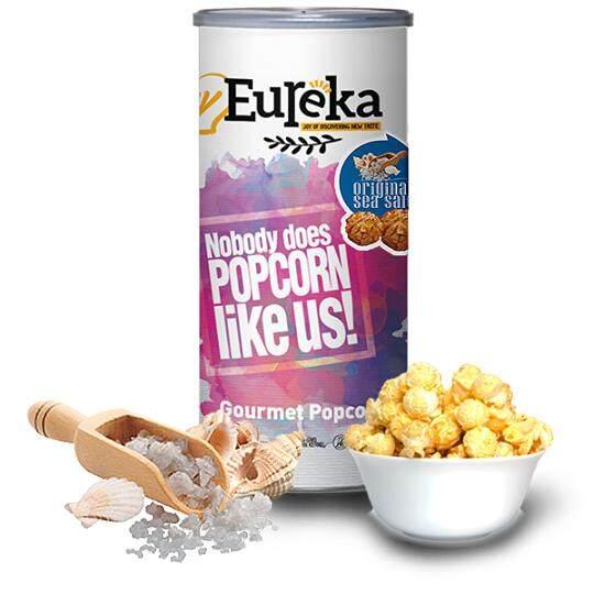 Eureka Original Sea Salt Popcorn Snack (Paper Can)
