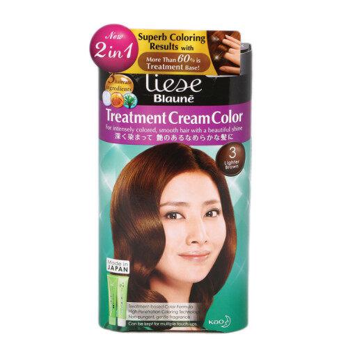 Liese Blauné Creamy Foam Hair Color (108g) - Dark Brown/Medium Brown/Light Brown/Lighter Brown/Ultra Light Brown
