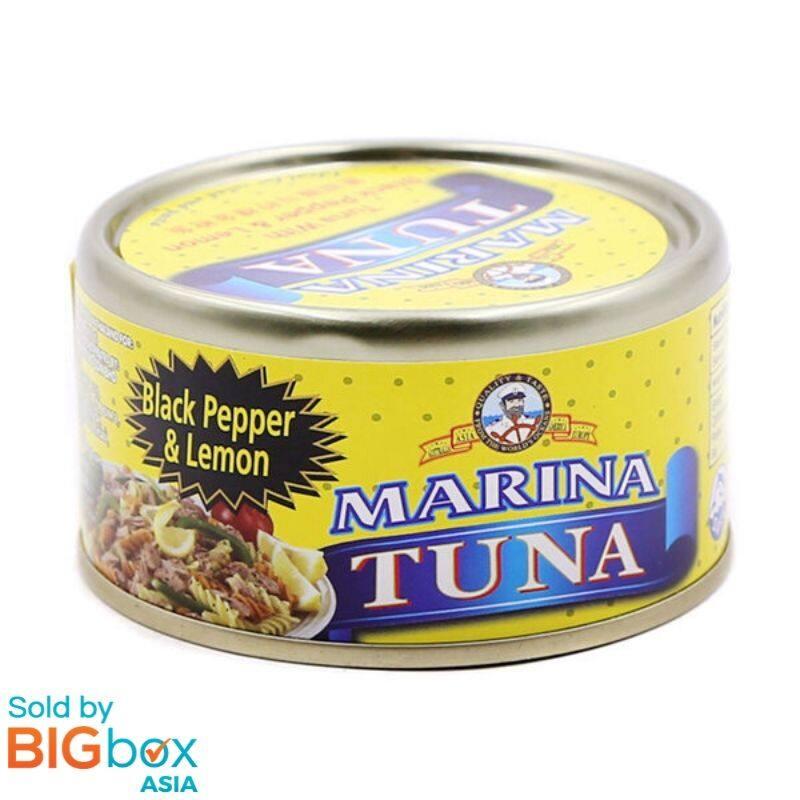 Marina Tuna 185g - Black Pepper & Lemon