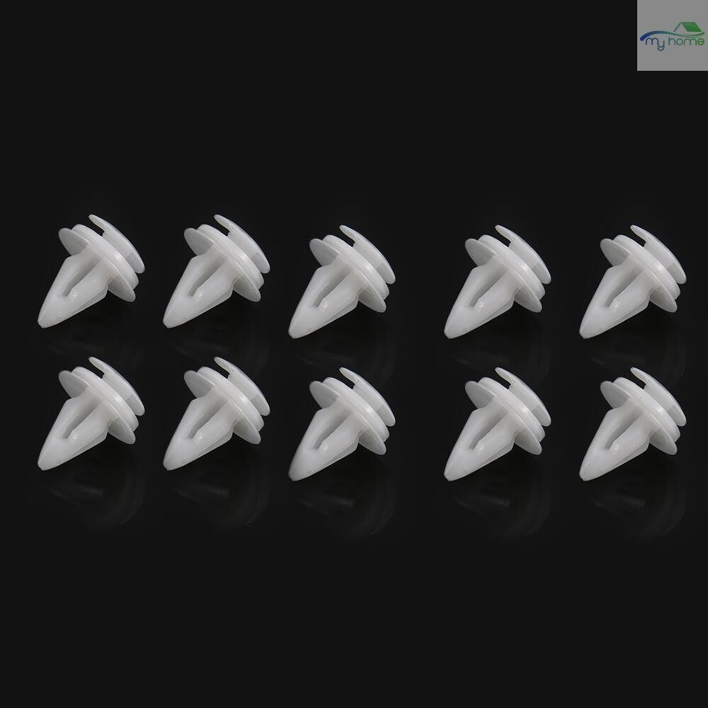 Engine Parts - 10 PIECE(s) Interior Door Card Trim Panel Retainer Clips Fastener Boot Clamp Lining for BMW E36 E46 - #