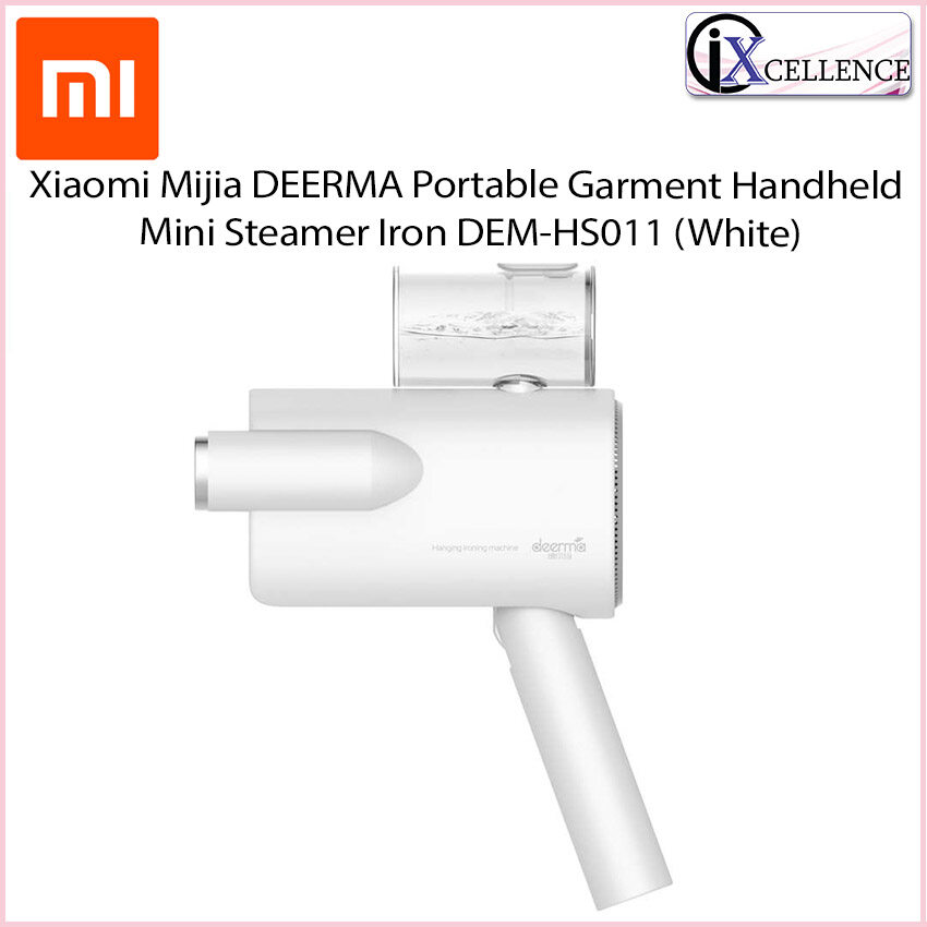 [IX] Xiaomi Mijia DEERMA Portable Garment Handheld Mini Steamer Iron DEM-HS011 (White)