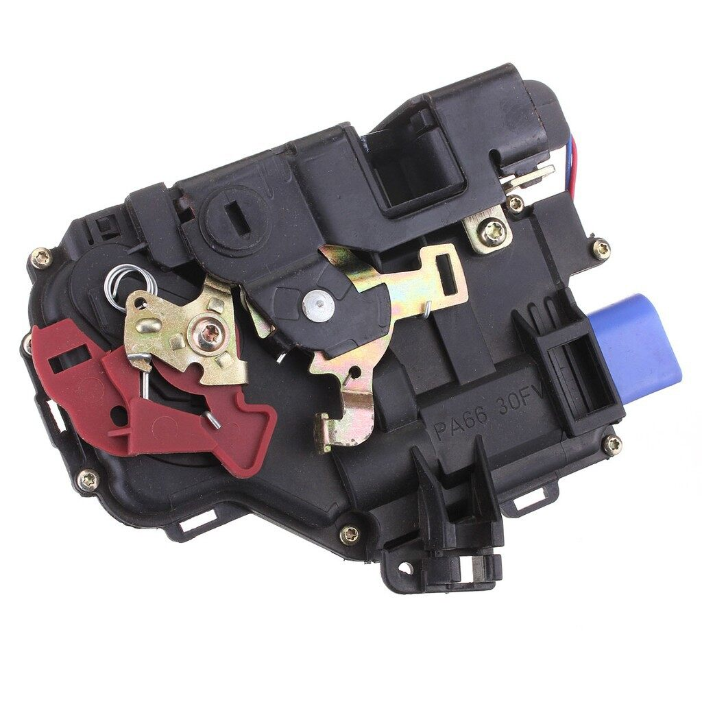 Tyres & Wheels - Rear Right Door Lock Mechanism For VW Golf Mk5 - Car Replacement Parts