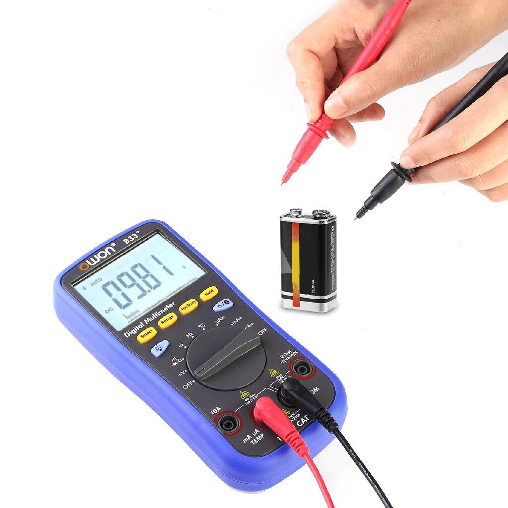 Gadgets - BLUETOOTH Multimeter T-RMS Digital AUTO Tester for Android 4.3 IOS 7.0 - Cool