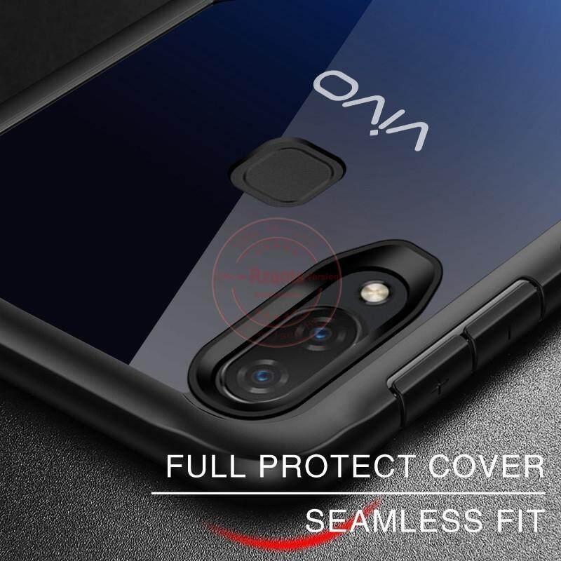 READY STOCK ~ VIVO S1 FULL PROTECTION SHOCKPROOF BUMPER PHONE BACK CASE COVER CASINGWHITE VIVO S1