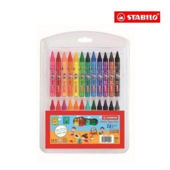 STABILO® Jumbo Yippy-Wax (Box of 24)
