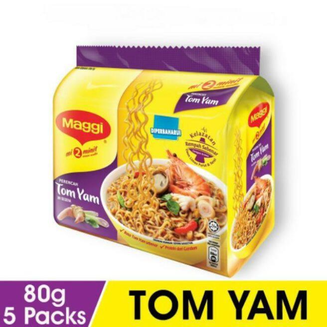 Maggi Instant Noodles Tomyam (5 x 80g)