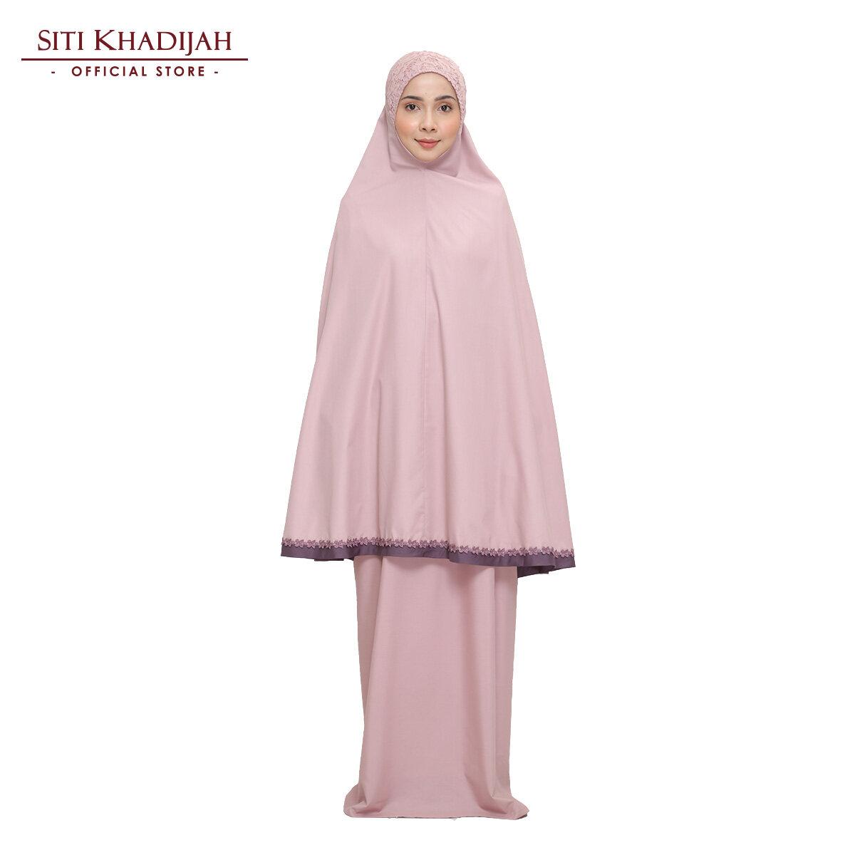 Siti Khadijah Modish Akasia (Foc Pouch Bag + Tote Bag in Pink)