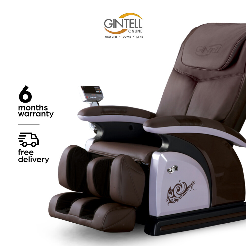 [FREE SHIPPING] GINTELL DHarmony Massage Chair - NIGHT MAROON (Showroom Unit)