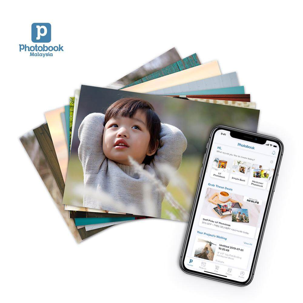 [e-Voucher] [Photobook App Exclusive!] Photobook Malaysia 50 Pieces 4R Photo Prints
