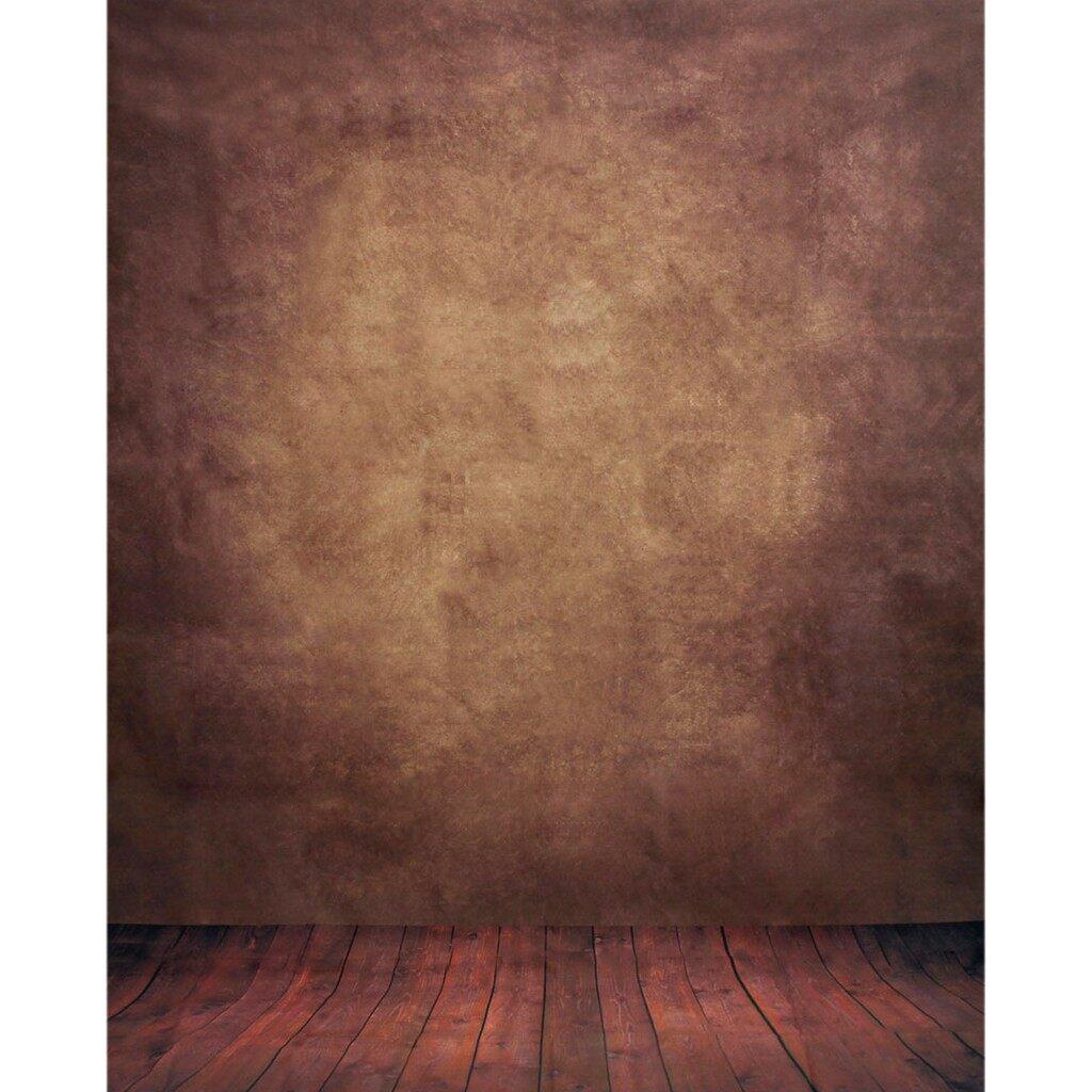 Lighting and Studio Equipment - 5X7FT Abstract Brown Studio Vinyl Floor Backdrop Photography Background Props UK - Camera Accessories