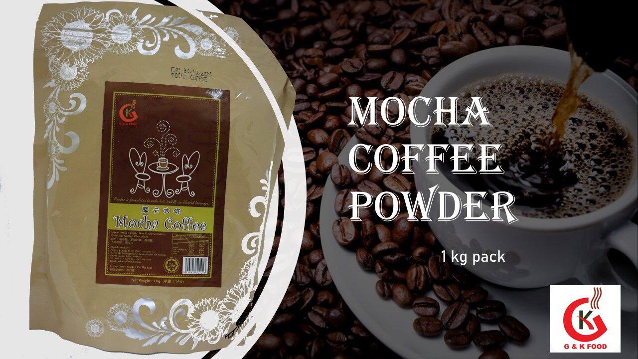 [100% JAKIM HALAL] 1KG Mocha Coffee Powder