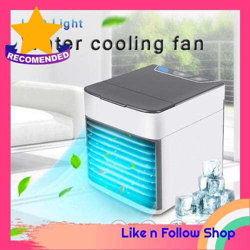 [Last Unit] Aromatherapy Air Cooler 3 Speed Fan USB Charging Table Fan