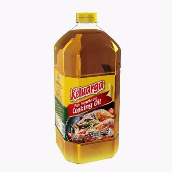 Cap Keluarga Pure Vegetable Cooking Oil 2kg
