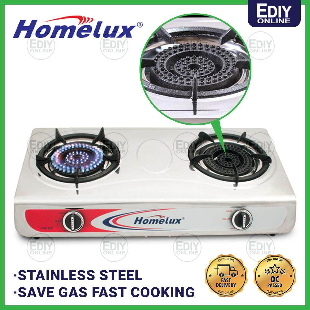 HOMELUXX STAINLESS STEEL GAS COOKER HHDS-333 _1704000