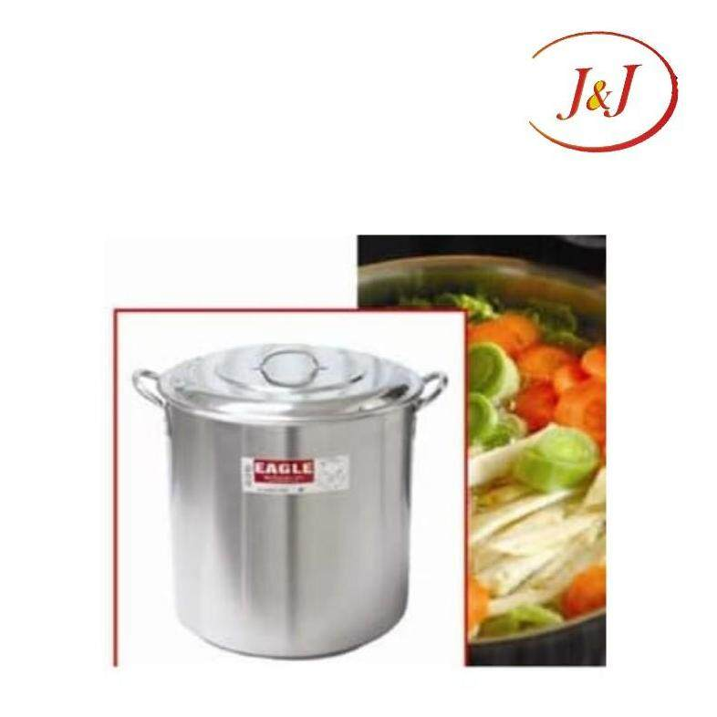 EAGLE Stainless Steel Stock Pot with Capsulated Bottom - Cookware, 28cm