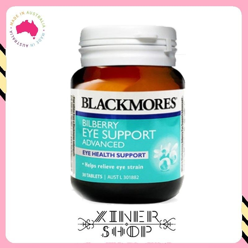 Blackmores Bilberry Eye Support Advanced ( 30 Tablets )( Made In Australia )